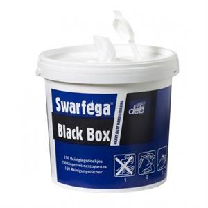 Swarfega Black Box 150 doekjes